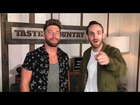 Chris Lane Joins Sam Alex for Taste of Country Nights on US 105