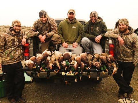 Oregon Duck Hunting - The Final Weekend Of 2014