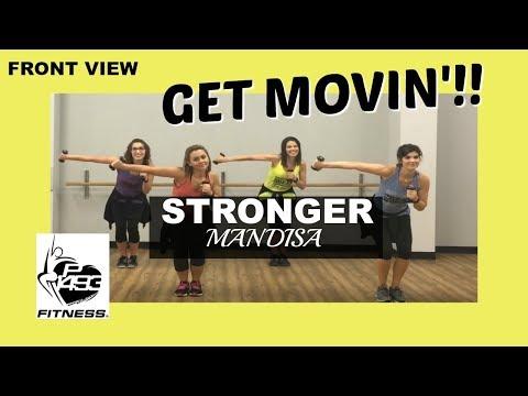 STRONGER (MOVIN' REMIX)    MANDISA    P1493 FITNESS®    CHRISTIAN FITNESS