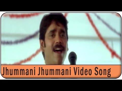 Jhummani Jhummani Video Song ||   Ravoyi Chandamama Movie ||  Nagarjuna Akkineni,Anjala Zhaveri