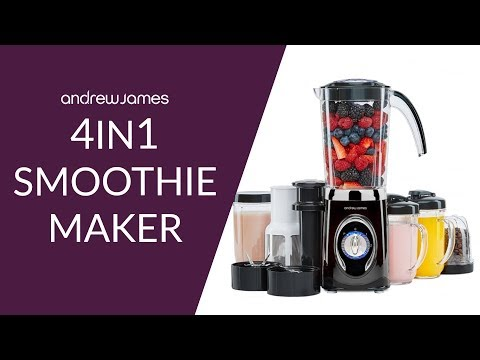 Andrew James 4 In 1 Smoothie Maker Youtube