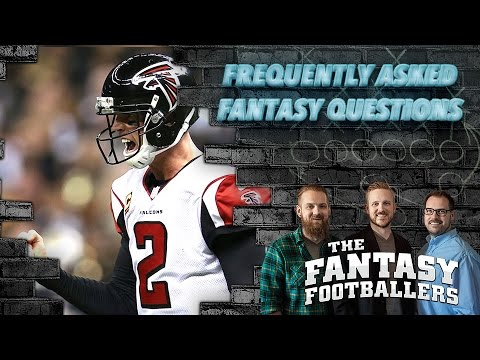 Fantasy Football 2017 - Frequently Asked Fantasy Questions - Ep. #358