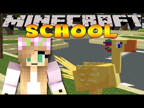 Minecraft School : LITTLE KELLY'S BIRTHDAY PRESENT!