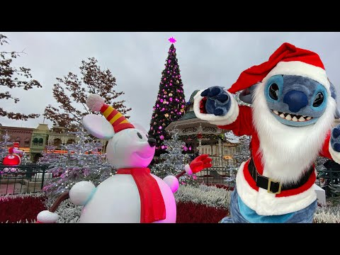 🎄The Not So Opening of the Christmas Season at Disneyland Paris