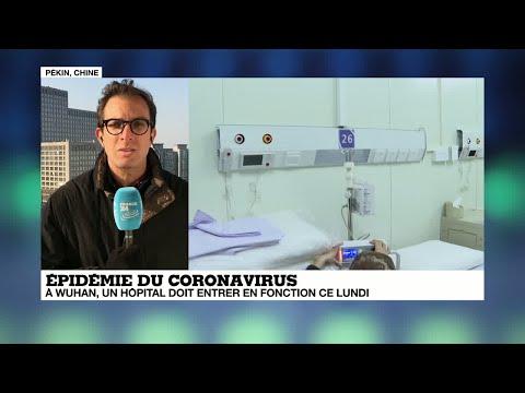 Coronavirus en Chine: un hôpital sort de terre à Wuhan