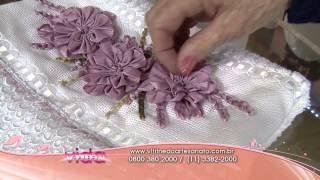 Saiba como fazer um lindo bordado da flor camélia