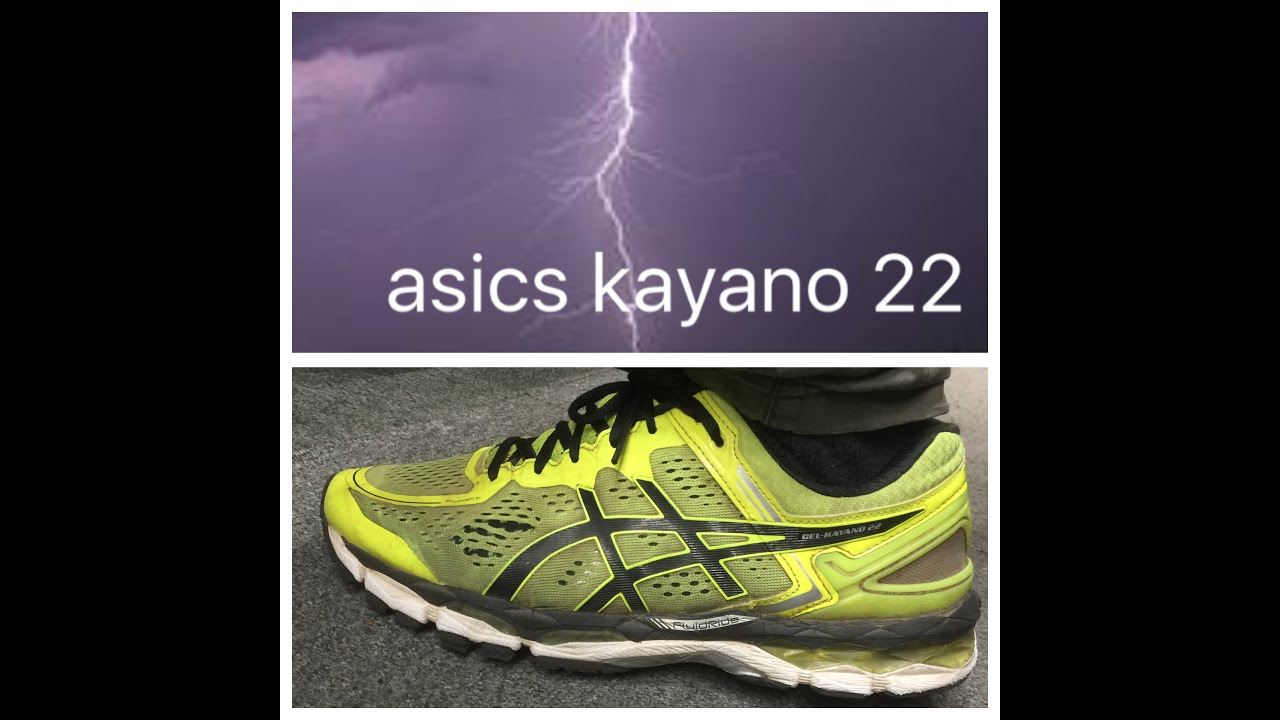 test asics kayano 22