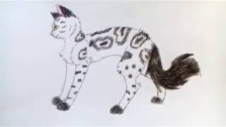 Уроки рисования №4 | Рисуем кошку в стоя | Рисовать легко | Рисование для начинающих| #14