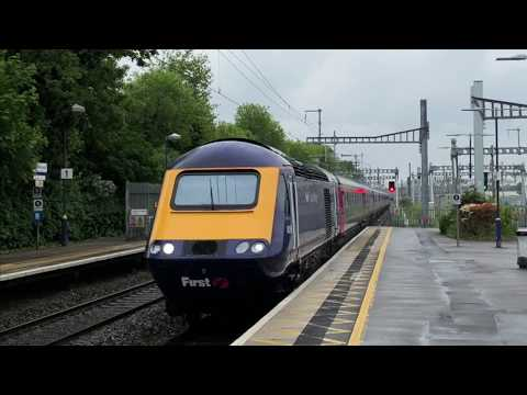 Great Western Railway Trains at Maidenhead on May 12th 2018