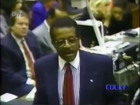 O.J. Simpson Trial Johnnie Cochran Closing Argument - Part 10