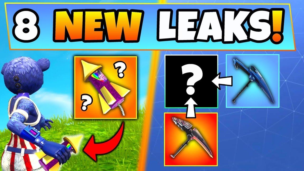 Fortnite Update: 8 CRAZY NEW THINGS LEAKED! - Bottle ...
