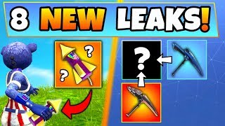 Fortnite Update: 8 CRAZY NEW THINGS LEAKED! – Bottle Rocket Item & WHITE Omega in Battle Royale?