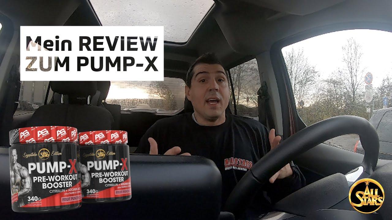 All Stars Pump Booster Test all stars pump-x pre workout booster von michal krizo - review