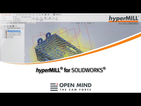 For SOLIDWORKS | hyperMILL CAM software