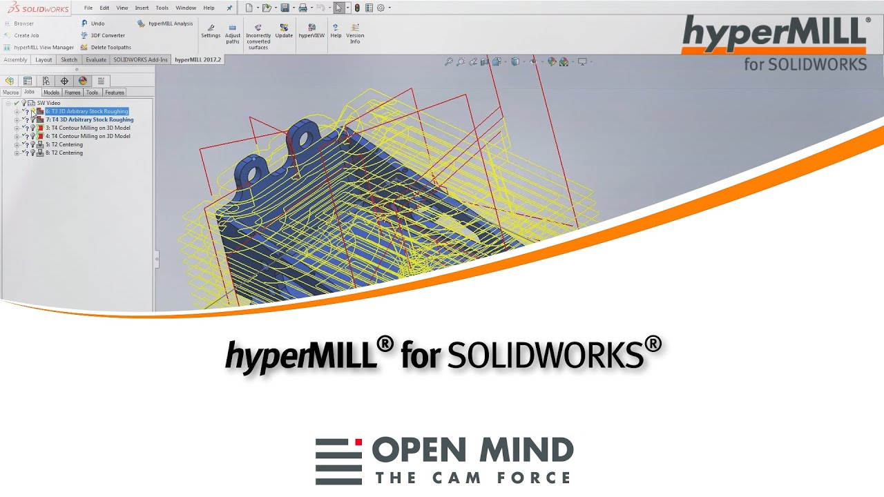 hyperMILL for Solidworks |CAM-Software|