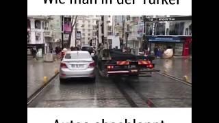 Türkei Istanbul abschlepp Dienst