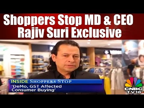 Shoppers Stop MD & CEO Rajiv Suri on Deal with Amazon as Well as it's Debt Reduction Drive| CNBC