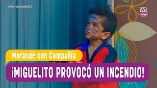 Miguelito provocó un incendio - Morandé con Compañía 2016