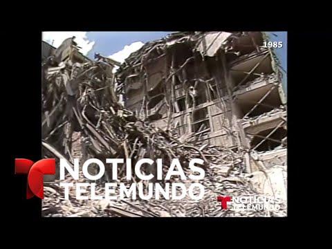 Este rescatista salvó decenas en terremoto del 85, ya no había esperanza | Noticiero | Telemundo