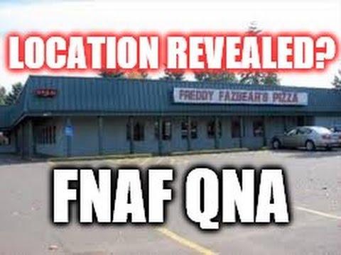 where is the location of freddy fazbear s pizza fnaf qna youtube