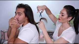 I Cut My Husbands Hair!