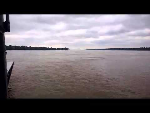 Crossing the Mississippi River by Car Ferry (Kentucky to Missouri)