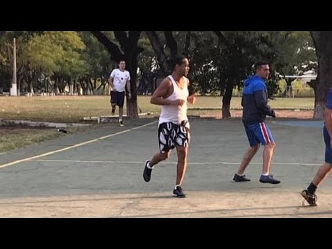 Ronaldinho Playing Prison Futsal Has Been Released [Video]
