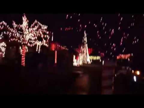 Yucaipa Christmas Lights on Manning Street - YouTube