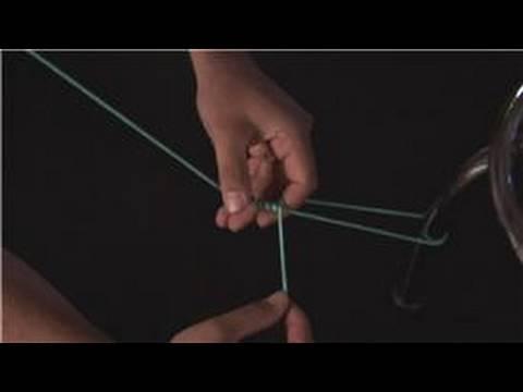 How To Tie A Loop : Bimini Twist Fishing Knot