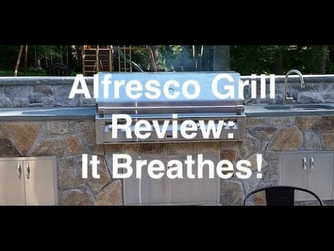 Alfresco Grill Review: The Only Gas Grill That BREATHES!!!