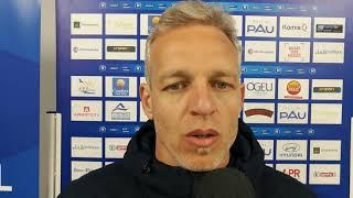 Réaction de Bruno Irles après Pau FC - Concarneau (0-1)
