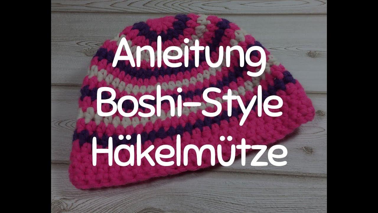 Anleitung Stylische Häkelmütze Im Boshi Style Mütze Häkeln Für