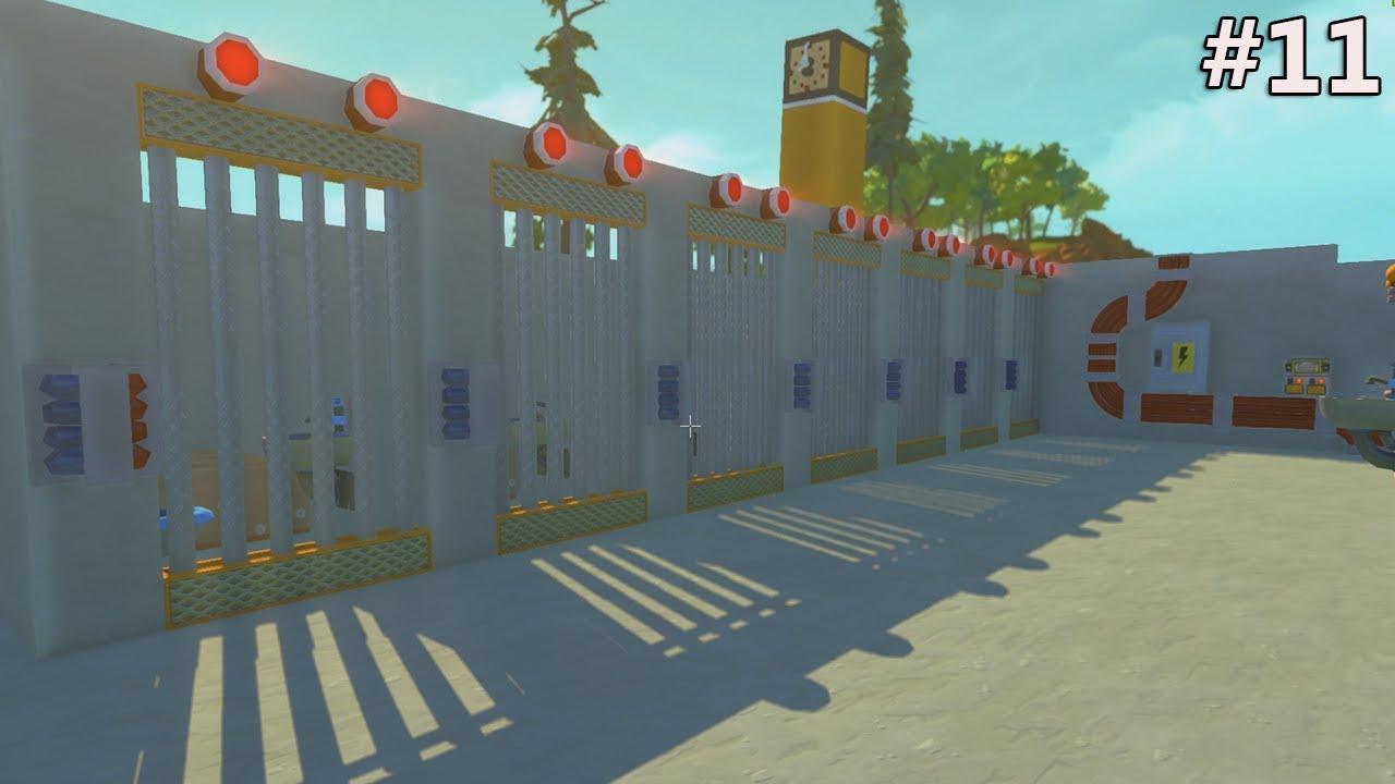 Scrap mechanic les cellule du commissariat 11 laisser - Laisser libre cours a son imagination ...