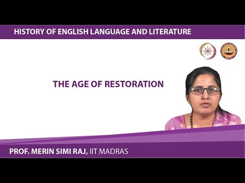 Lecture 9 The Age of Restoration
