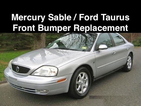 2000 – 05 Mercury Sable / Ford Taurus Front Bumper Replacement