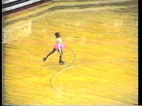 1996 Kristen Taylor World Class Ladies Singles Long Program - Artistic Roller Skating Nationals