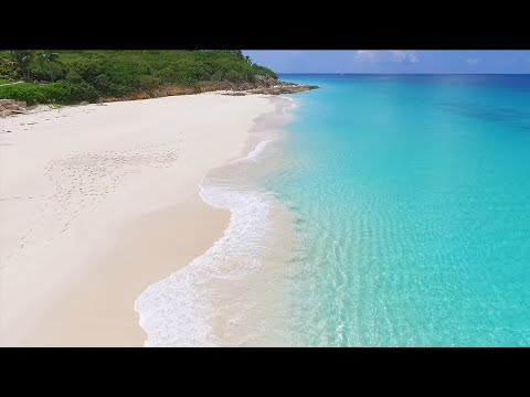 4K Mental Vacation: 3 Hours on The Most Beautiful Beaches in The World