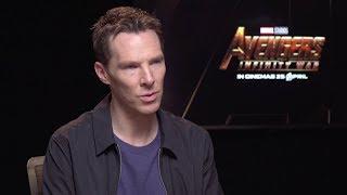 Benedict Cumberbatch Explains The Avengers Fake Script