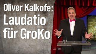 Oliver Kalkofes Laudatio für die GroKo