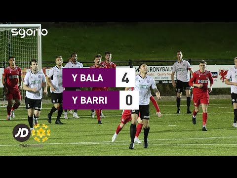 Bala Town Barry Goals And Highlights