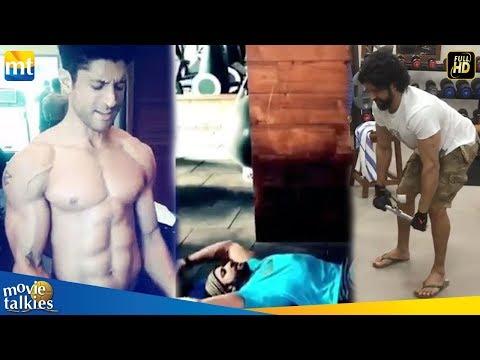 Farhan Akhtar Posts A 'Rocky' Workout Video For Fans I Toofan Mp3
