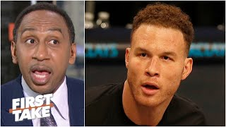 Stephen A. reacts to Blake Griffin's comments: 'Ain't nobody scared!' | First Take