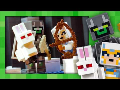 The Bedrock Adventures: Escape  LEGO Minecraft  21147  Stop Motion