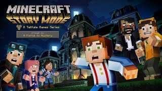 "Minecraft: Story Mode Episode 6 ""A Portal to Mystery""  All Cutscenes (Game Movie) 1080p HD"