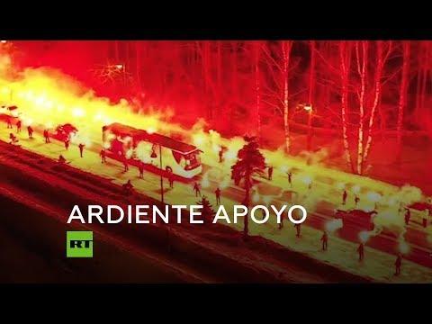 RT en Español: Así reciben al Zenit sus aficionados en San Petersburgo