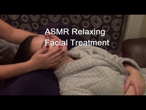 ASMR Relaxing Facial Treatment