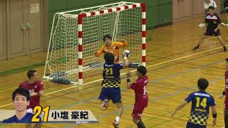 日本ハンドボールリーグ 豊田合成 vs トヨタ車体(2018年9月29日 稲沢ホーム大会)