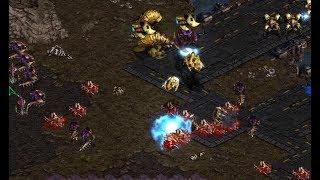 Larva (Z) v Stork (P) Twofer on Third World - StarCraft  - Brood War REMASTERED