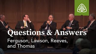 Questions and Answers with Ferguson, Lawson, Reeves, and Thomas