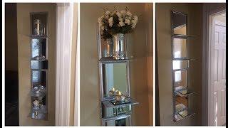 Dollar Tree DIY 💕 Mirrored Shelves 💕